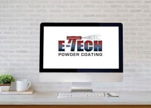 E-Tech Powder Coating Logo