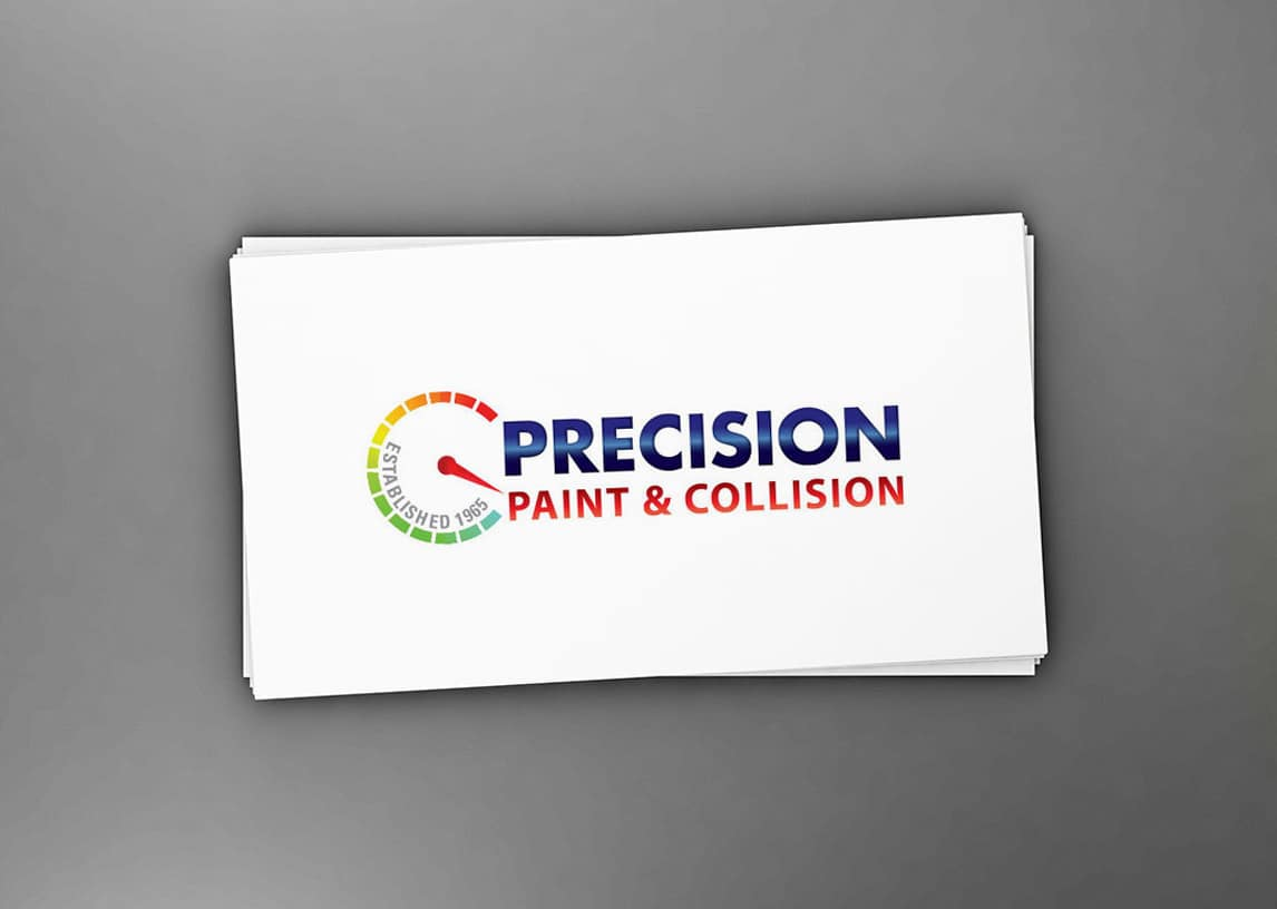 Precision Paint and Collision Logo