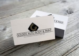 Golden Auto Body and Paint Logo