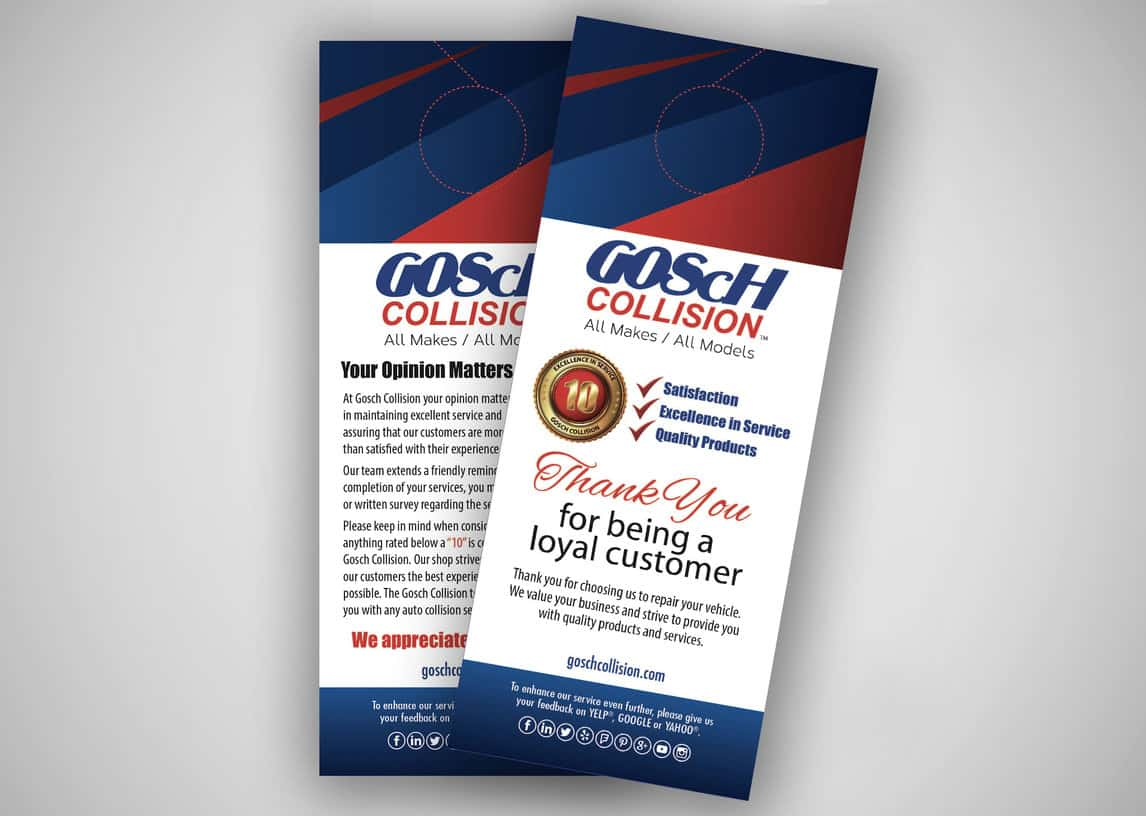 Gosch Collision Door Hanger