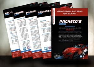 Pacheco's Body Shop DRP Resume