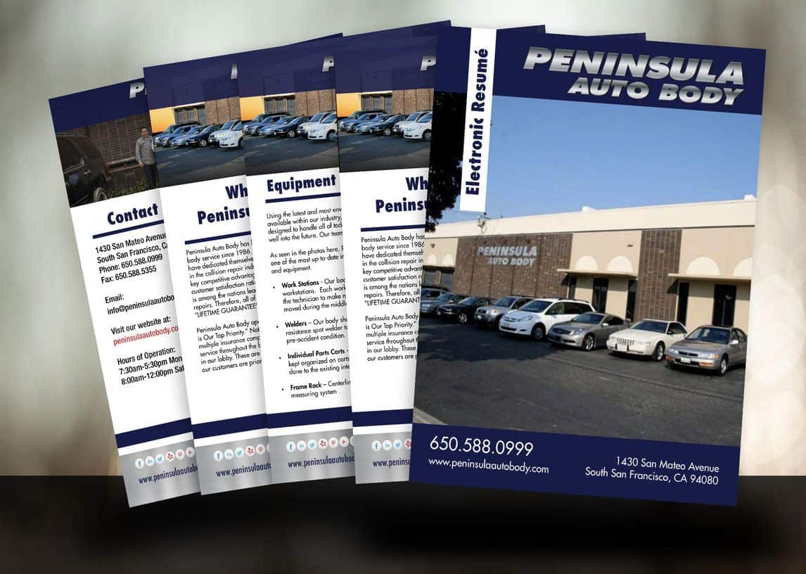 Peninsula Auto Body DRP Resume