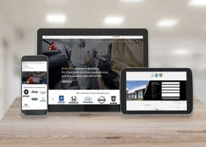 Tri County Collision Center Responsive Website
